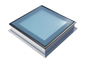 Platdakraam Intura PGX A5 80x80 cm beloopbaar glas