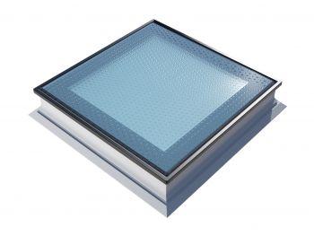 Platdakraam Intura PGX A5 90x90 cm beloopbaar glas