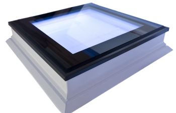 Intura platdakraam met led verlichting en hoge isolatie waarde 120x220 cm.